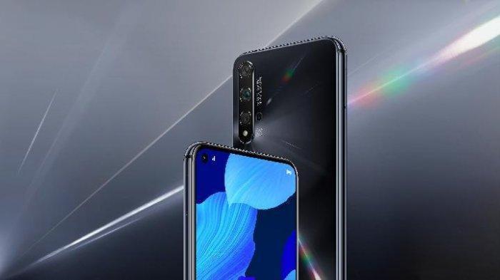Ilustrasi produk Huawei.