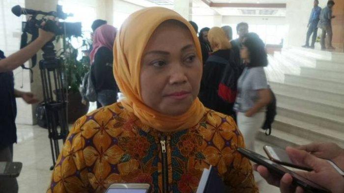 Ketua Fraksi Partai Kebangkitan Bangsa (PKB) Ida Fauziah di Kompleks Parlemen, Senayan, Jakarta, Jumat (19/5/2017).(KOMPAS.com/Nabilla Tashandra)