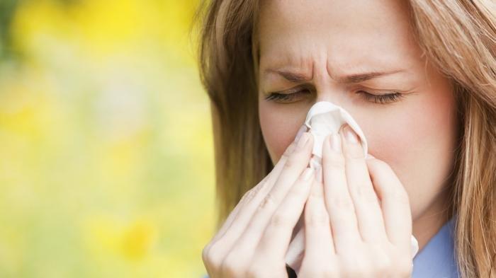 Ilustrasi alergi