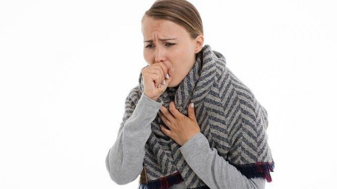 ILUSTRASI. Gejala yang dapat dialami oleh pengidap tumor karsinoid antara lain batuk atau batuk darah, mengi, sesak napas, nyeri dada, wajah yang kemerahan, infeksi seperti pneumonia
