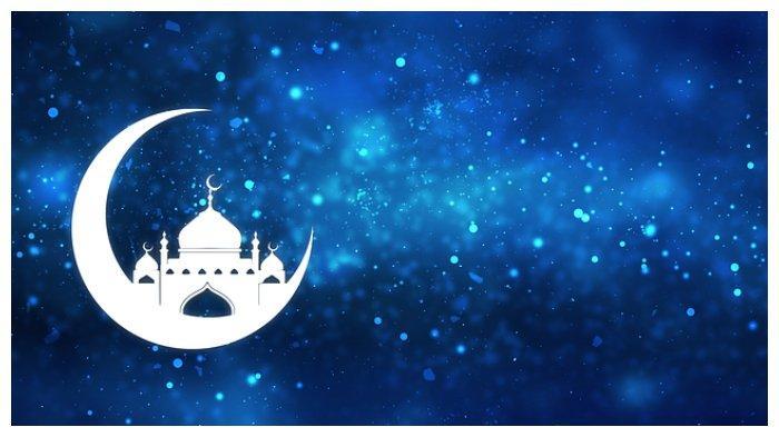 Ilustrasi bulan Ramadan