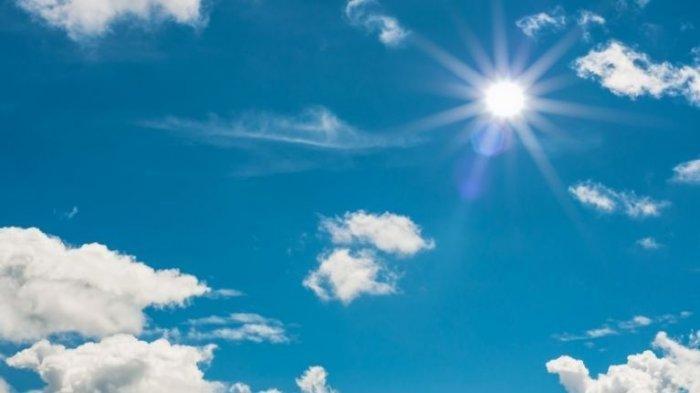 Ilustrasi cuaca cerah.