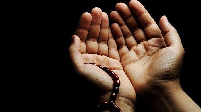 Ilustrasi doa umat Islam
