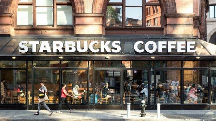 Ilustrasi gerai Starbucks di New York, Amerika Serikat, (8/5/2015).