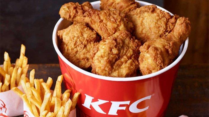 Ilustrasi promo KFC lima potong ayam mulai harga Rp 49 ribuan.