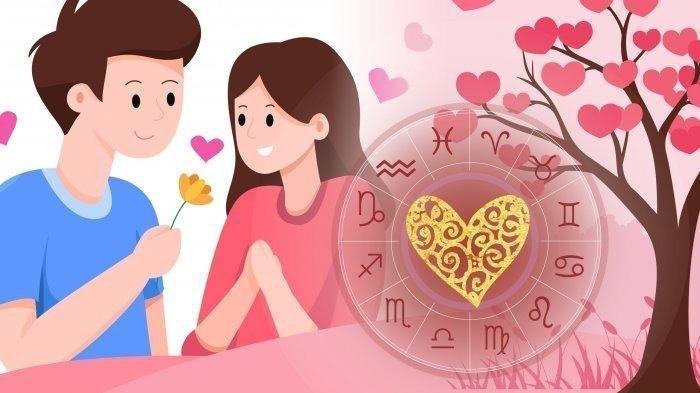 Ilustrasi ramalan zodiak cinta besok Senin 15 Februari 2021