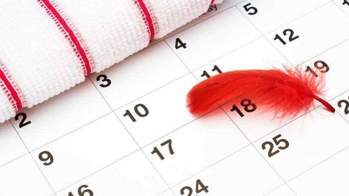 Ilustrasi siklus menstruasi