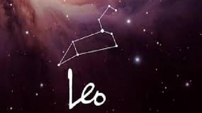 ilustrasi zodiak leo