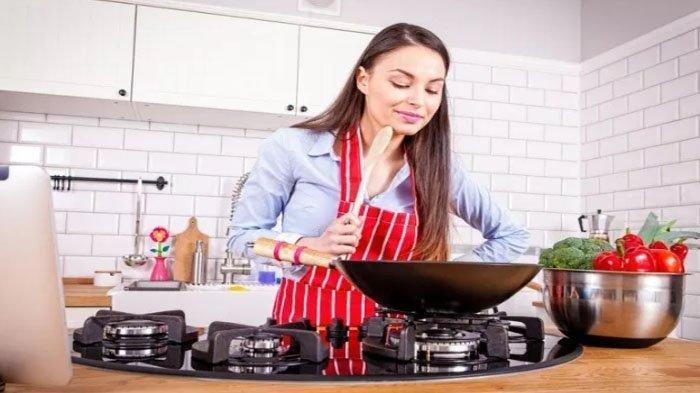 Ilustrasi belajar memasak