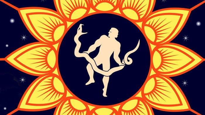Ilustrasi zodiak Ophiuchus