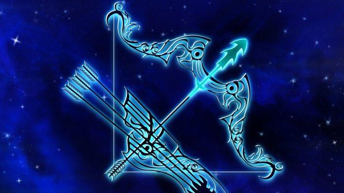 ilustrasi zodiak sagitarius