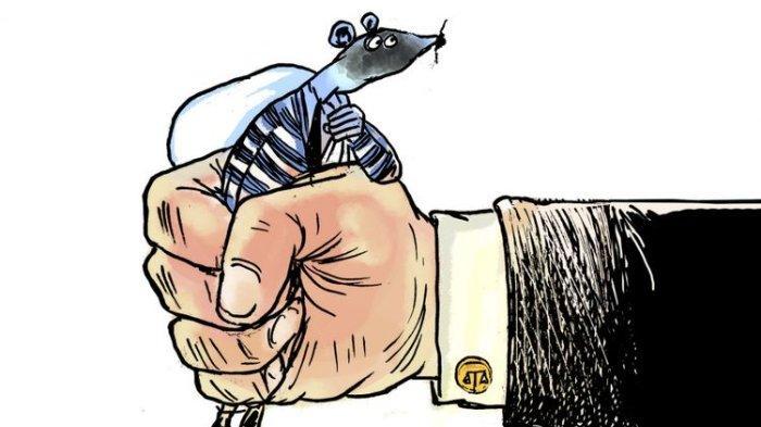 ilustrasi kades korupsi dana bantuan pandemi