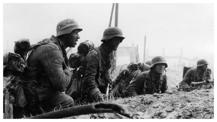Infantri Jerman selama Pertempuran Stalingrad
