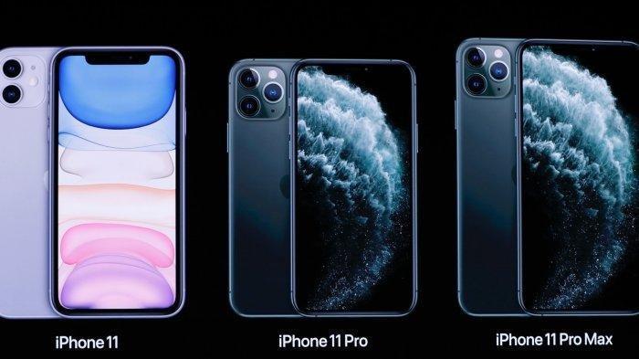 Inilah perbedaan harga dan spesifikasi iPhone 11, iPhone 11 Pro dan iPhone 11 Pro Max.