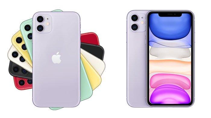 ILUSTRASI - iPhone 11 (2019)