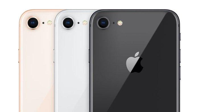 Ilustrasi desain iPhone 9, produk dari Apple.