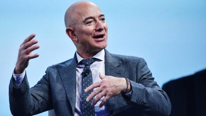Jeff Bezos, pendiri dan CEO Amazon