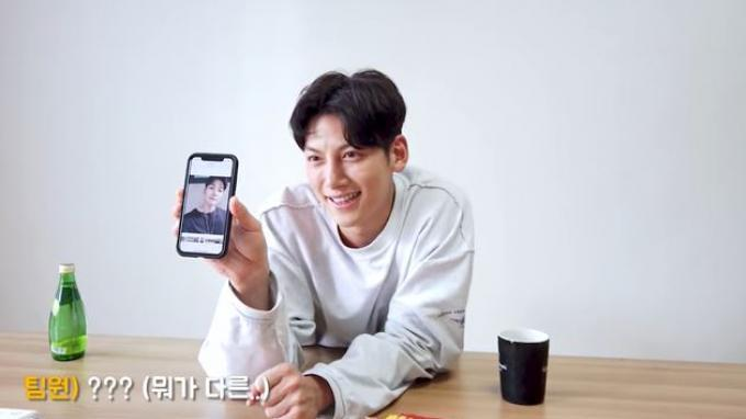 Ji Chang Wook dalam YouTube channelnya.