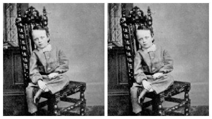 J.J. Thomson ketika kecil
