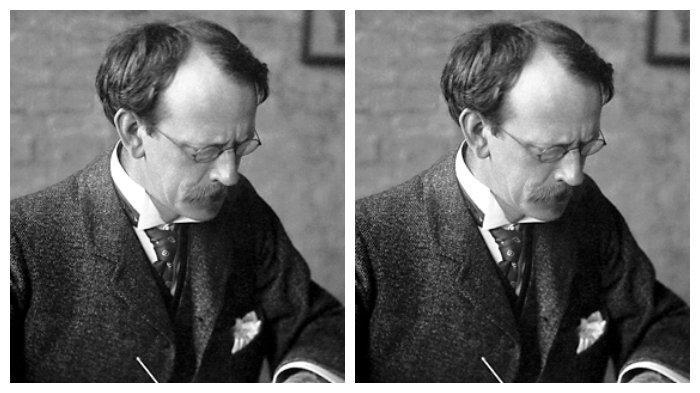 J.J. Thomson pada 1906