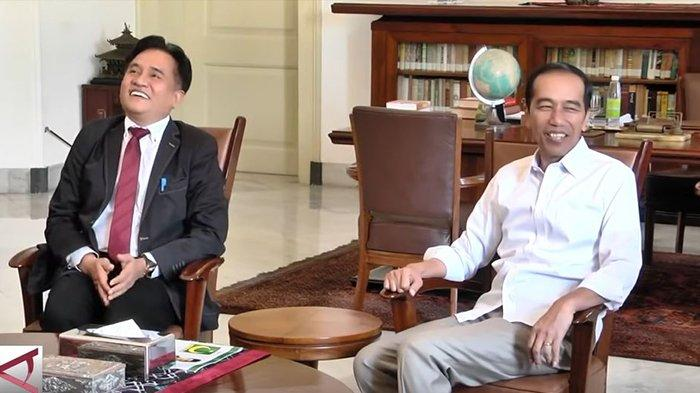 Nama Yusril Ihza Mahendra disebut-sebut akan diberi jabatan baru oleh Presiden Joko Widodo, karena dirinya tak masuk di jajaran Menteri Kabinet Indonesia Maju.