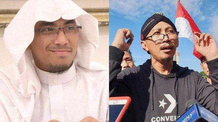 Abu Janda melaporkan Soni Eranata alias Maaher At-Thuwailibi ke Mabes Polri dengan tuduhan pengancaman dan ujaran kebencian melalui sosial media Twitter pribadinya.