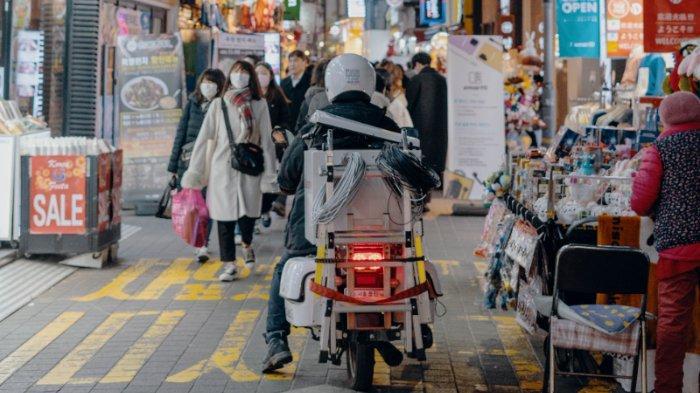 FOTO: Kehidupan malam di Korea Selatan
