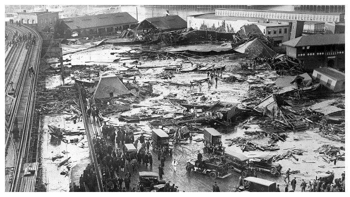 Kerusakan akibat bencana tetes tebu