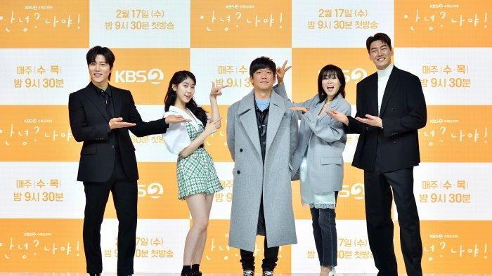 Keseruan Konferensi Pers Drama Korea Hello, Me! Para Pemeran Bagi Kisah-kisah Menarik
