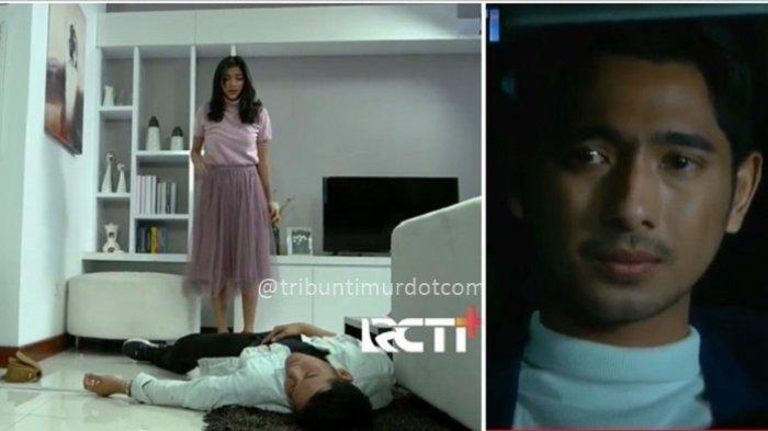Adegan Ikatan Cinta episode 1-2 Elsa bunuh Roy, dan capture adegan Aldebaran di dalam mobil (RCTI)