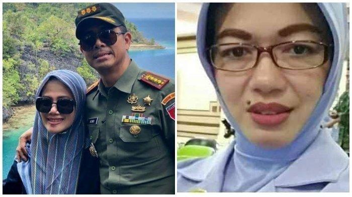Kolonel Hendi Suhendi dan istri sekaligus pemilik akun Irma Zulkifli Nasution dan pemilik akun Fita Sulistyowati di Facebook sekaligus istri Peltu YNS.