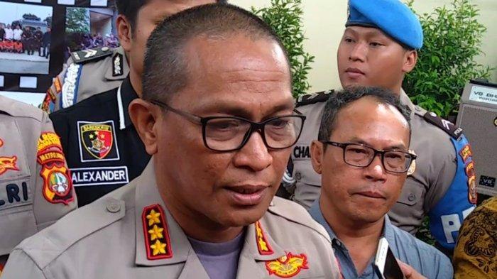 Kabid Humas Polda Metro Jaya Kombes Pol Yusri Yunus di Polres Bandara Soekarno-Hatta, Kamis (30/1/2020)