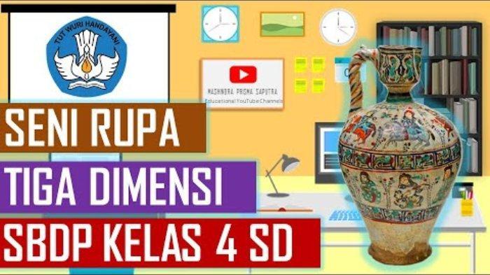 Kunci Jawaban Belajar Dari Rumah Tvri Sd Kelas 4 6 Kamis 27 8 2020 Seni Rupa Murni Dan Terapan Halaman All Tribunnewswiki Com Mobile