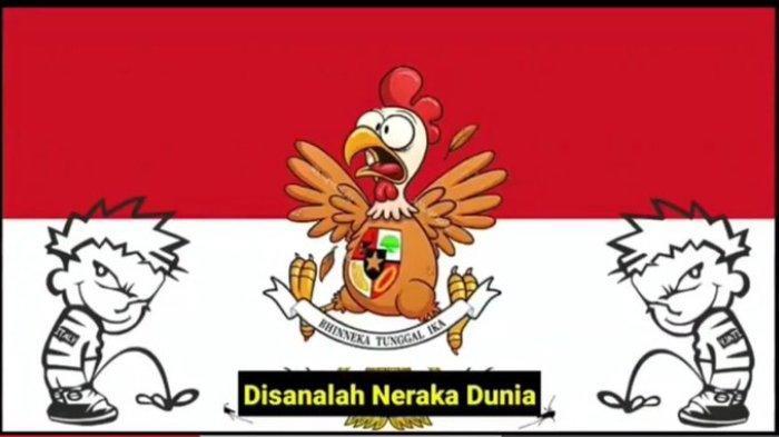 Lagu Indonesia Raya diparodikan oleh Malaysia