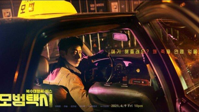 lee je hoon - drama Model Taxi (Taxi Driver)