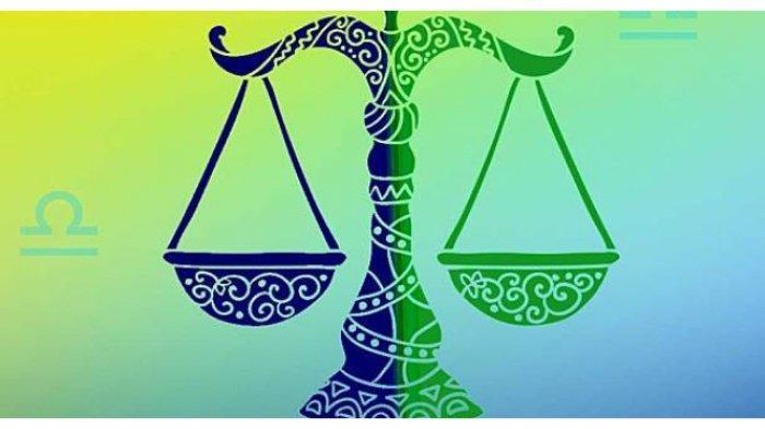 Simbol zodiak Libra.