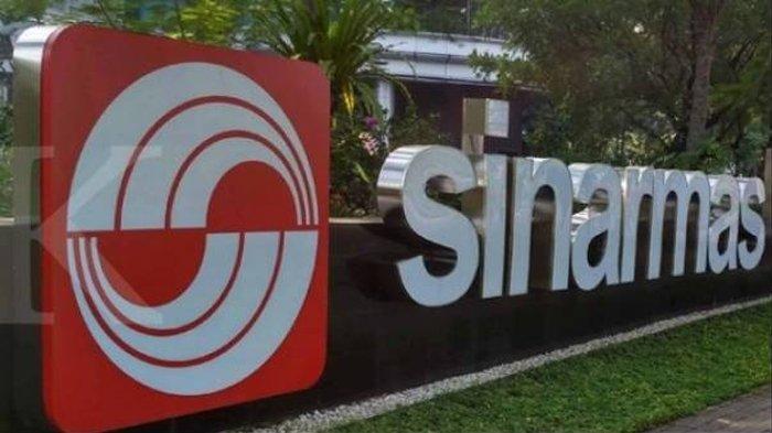 Logo Sinar Mas Group.(KONTAN/Achmad Fauzie)