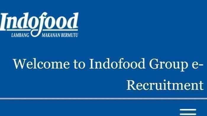 Lowongan kerja PT Indofood.