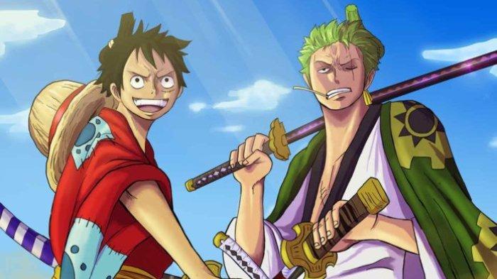 Luffy dan Zoro di One Piece