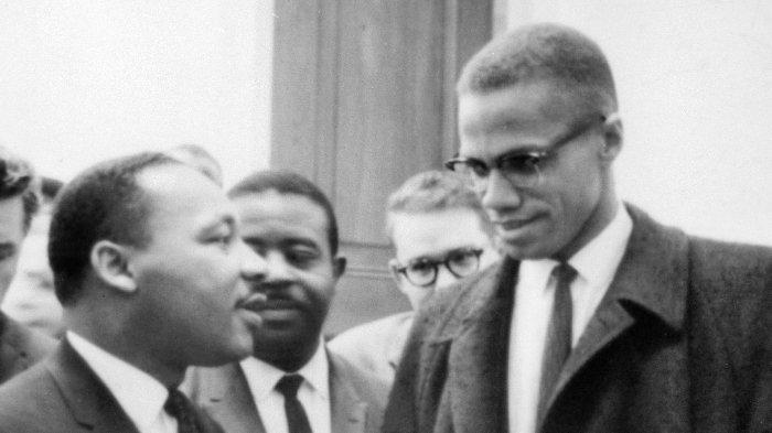 Malcolm X bertemu Martin Luther King Jr. pada 26 Maret 1964
