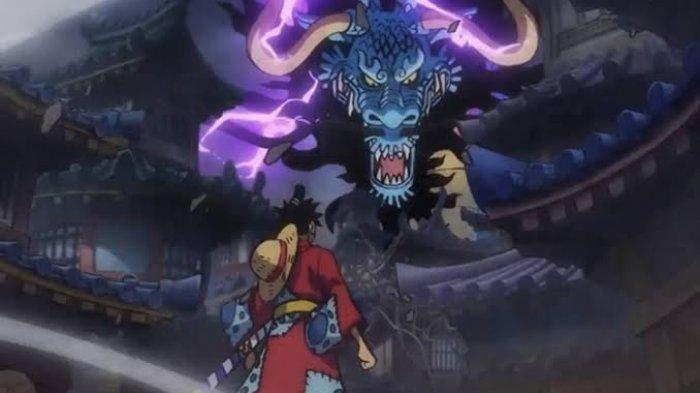 Spoiler One Piece Chapter 993 Pertarungan Kaido Dan Akazaya Nine Di Puncak Tengkorak Onigashima Tribunnewswiki Com Mobile