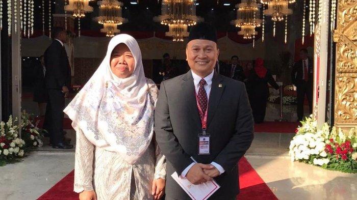 Mardani Ali Sera dan istri.