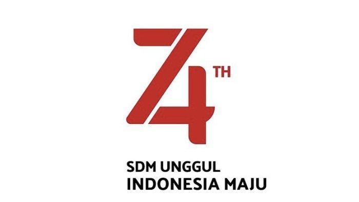 Logo HUT RI ke 74 Tahun 2019