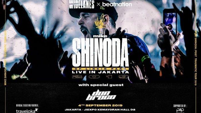 5 Fakta Konser Mike Shinoda Di Indonesia September 2019 Mendatang Promotor Sediakan 7 Ribu Tiket Tribunnewswiki Com Mobile