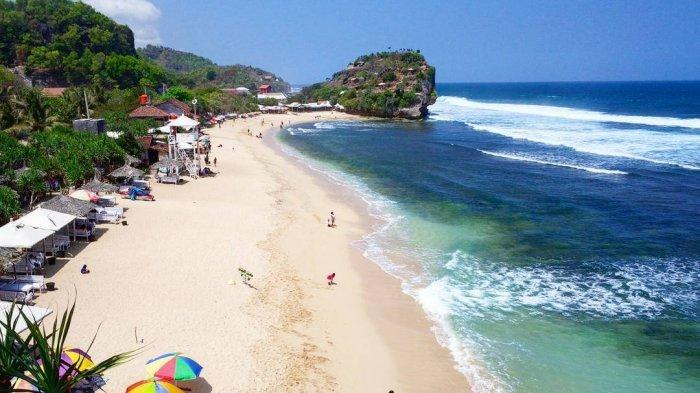 Pantai Pulang Syawal Tribunnewswiki Com Mobile