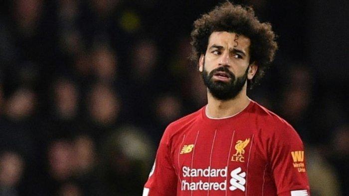 Mohamed Salah, penyerang Liverpool.