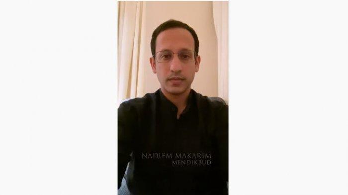Nadiem Makarim menghimbau Masyarakat Indonesia bekerja di rumah melalui video diunggah YouTube KEMENDIKBUD RI, Senin (17/3/2020).