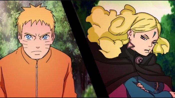 Naruto dan Delta di Manga Boruto