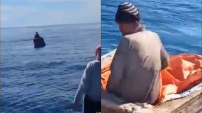 6 Hari Ditengah Laut, Nelayan Tua Berhasil Diselamatkan