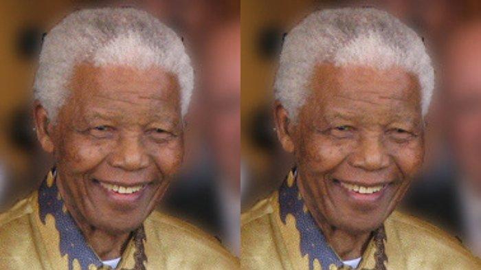 Nelson Mandela pada 2008